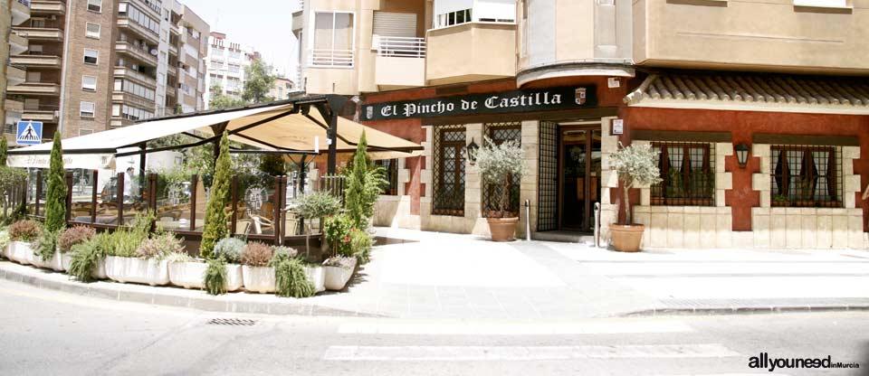 Restaurante El Pincho de Castilla en Cartagena. Asadero de todo tipo de Carnes.