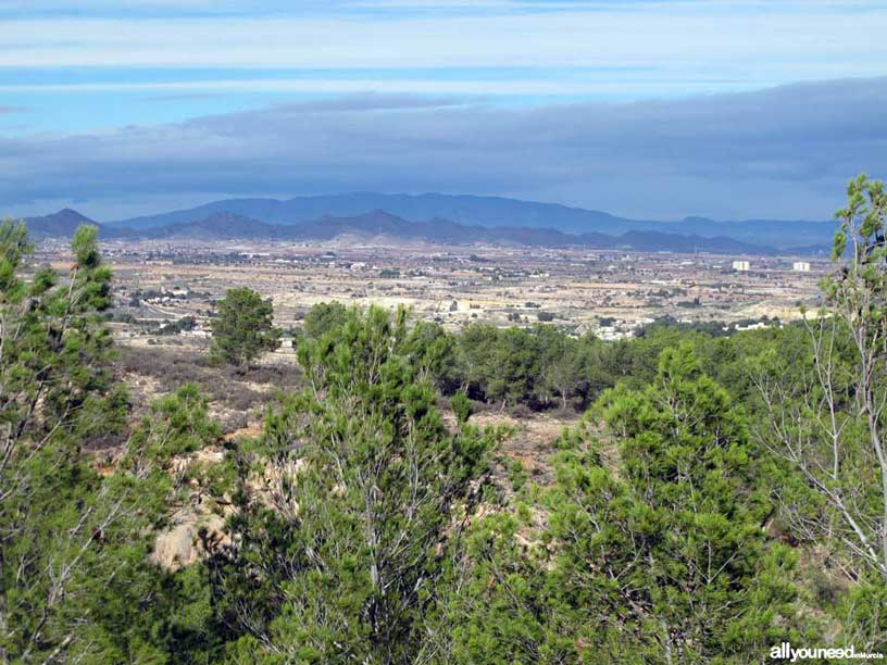 Route between Tentegorra and Monte Roldán
