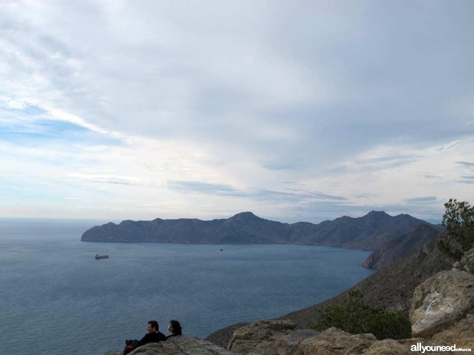 Panorámicas desde el Monte Roldán en Cartagena. Mirador de Rodán