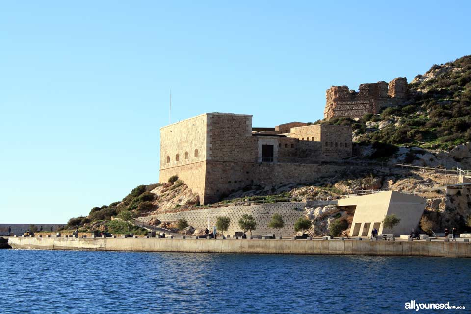 Navidad Fortress in the Port of Cartagena