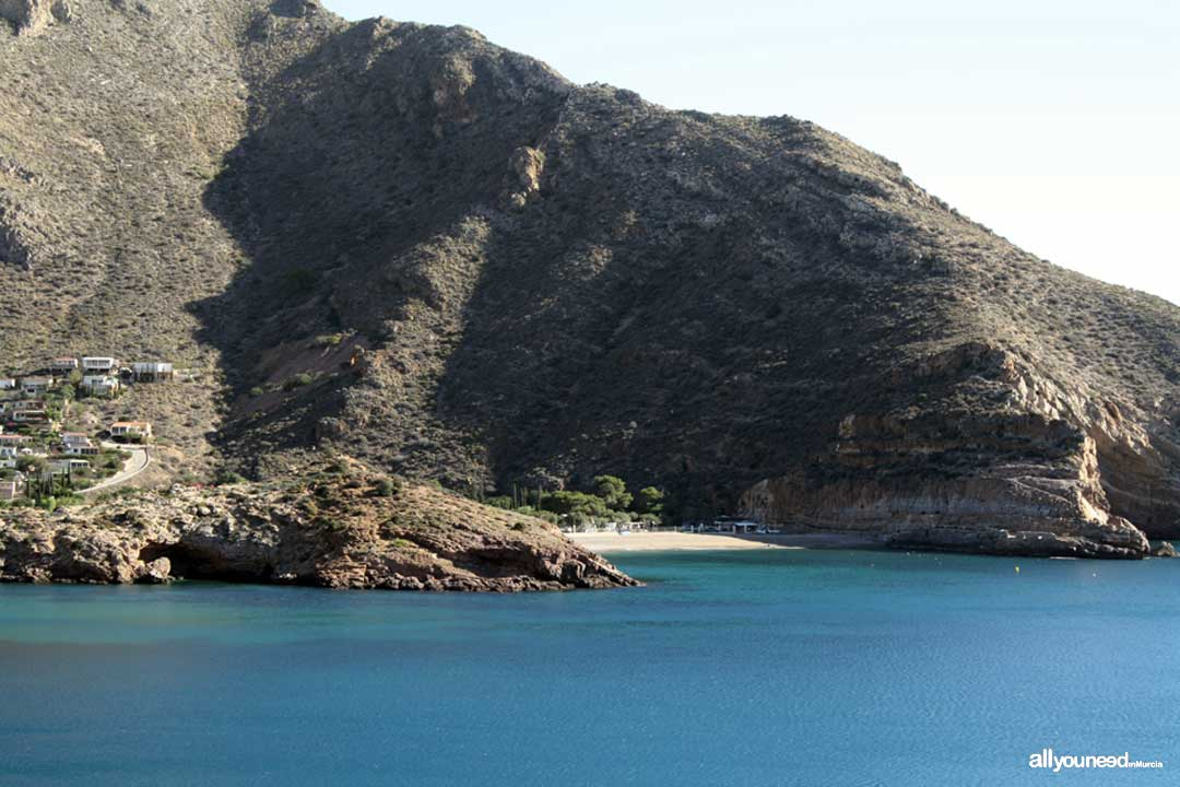 Morena Cove. Nudist Campsite of Portús