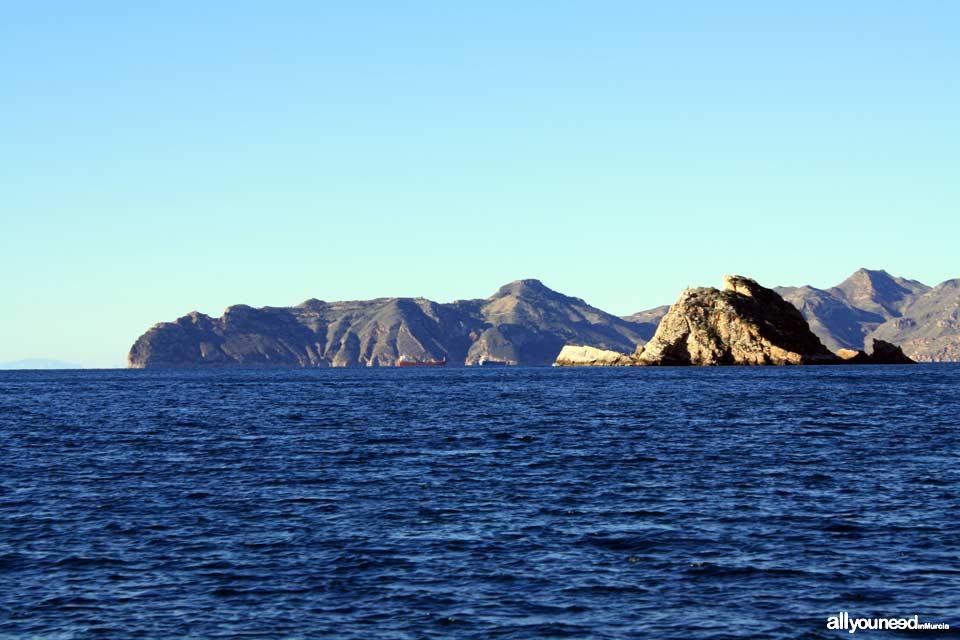Isla de las Palomas en Cartagena