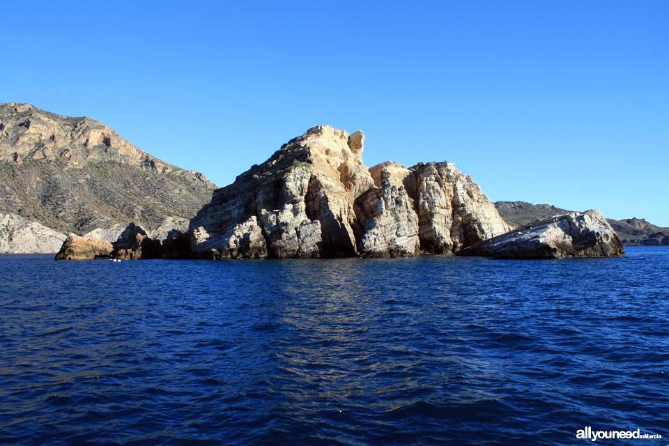 Bucear en Cartagena. Isla de las Palomas