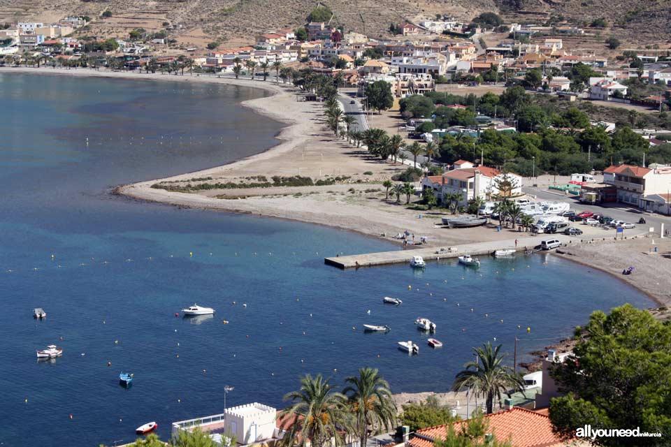 Playas de Murcia. Playa de la Azohía. Cartagena