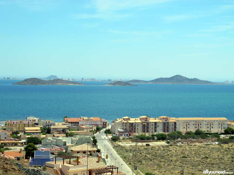 Playa de Punta Brava. Mar Menor