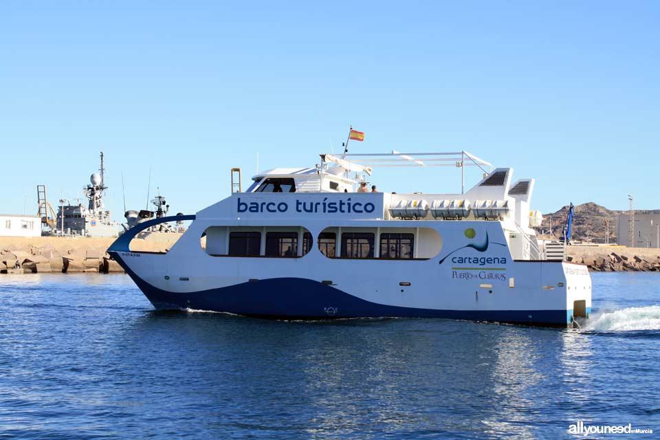 Barco Turístico - Puerto de Cartagena