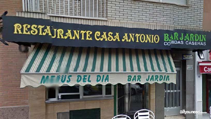 Restaurante Casa Antonio. Jardin Bar in Cieza