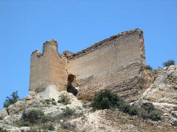 Guide of Castles in Murcia. Cieza Castle. Spain