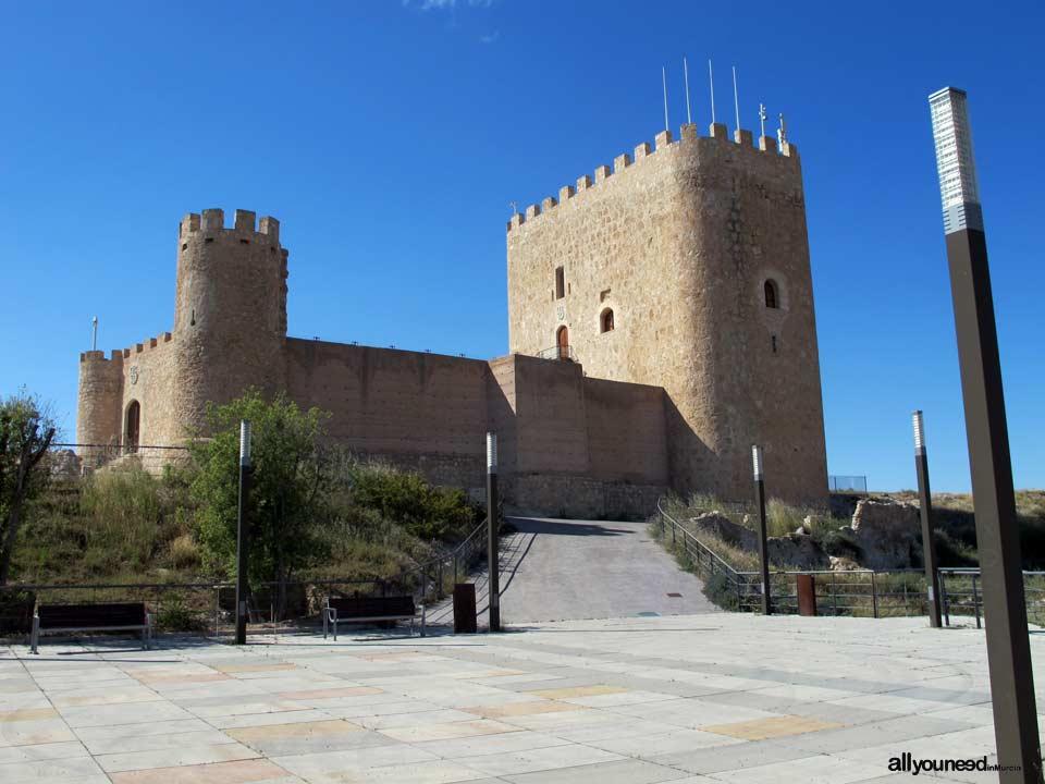 Guide of Castles in Murcia. Jumilla Castle. Spain