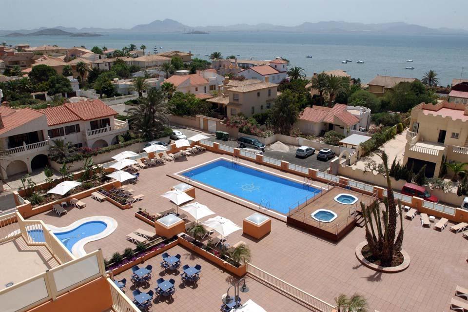 Hotel & Spa Mangalan en La Manga del Mar Menor. Vistas terraza