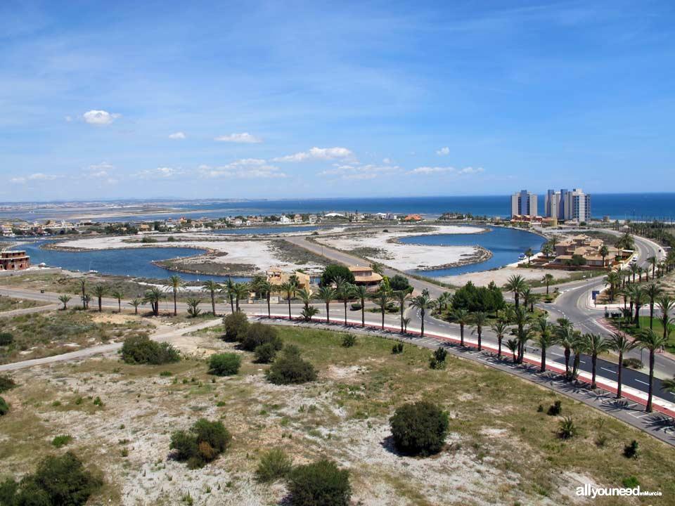Canales de Veneziola en La Manga del Mar Menor