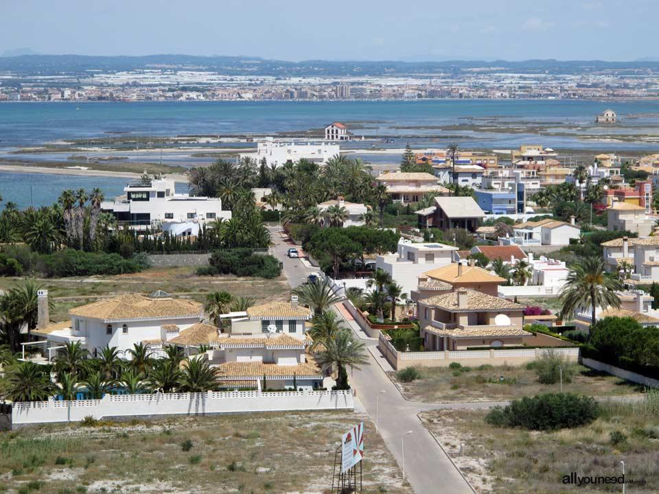 Golas de la Torre y del Ventorrillo en La Manga del Mar Menor