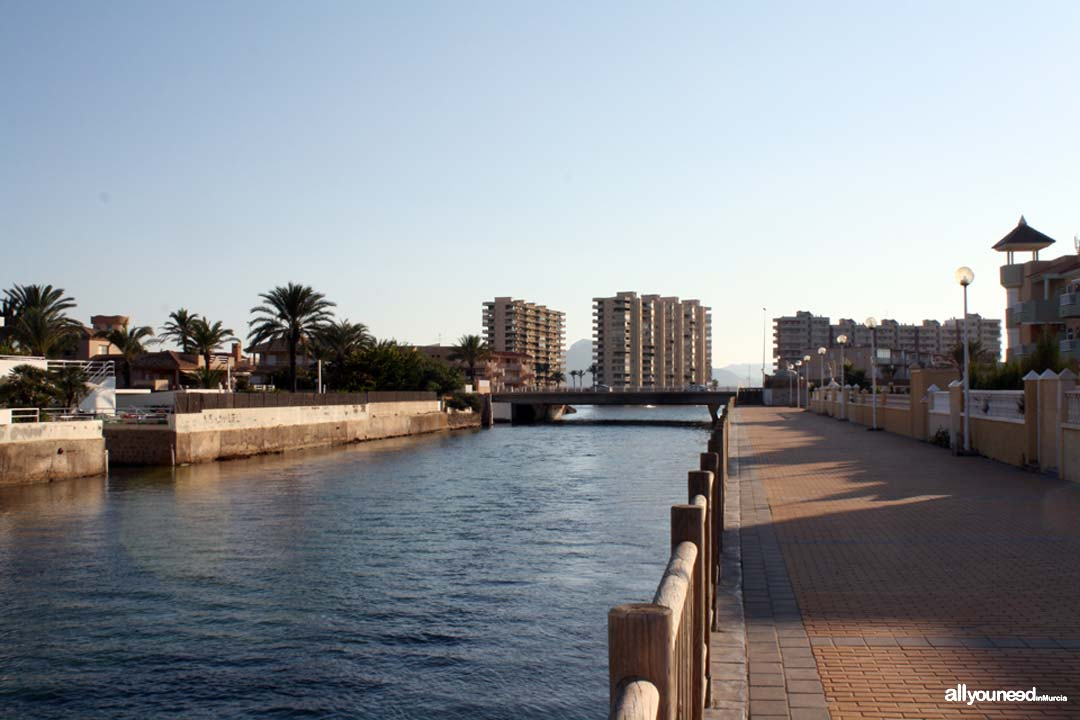 Gola de Marchamalo. La Manga del Mar Menor