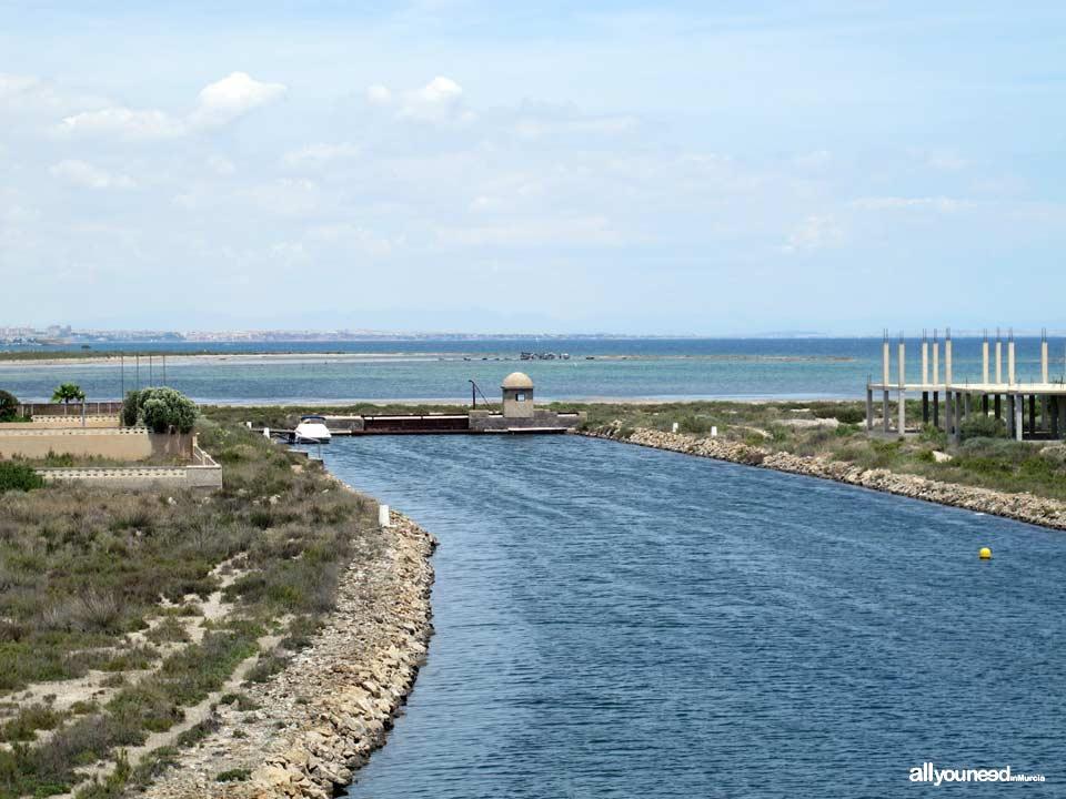 Gola del Charco en La Manga del Mar Menor