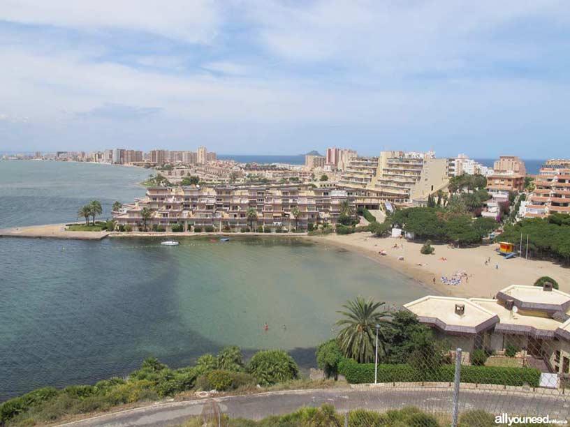 Cala del Pino. Playas de La Manga del Mar Menor