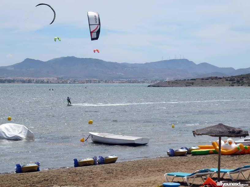 Playa Isla del Ciervo. Playas de La Manga del Mar Menor