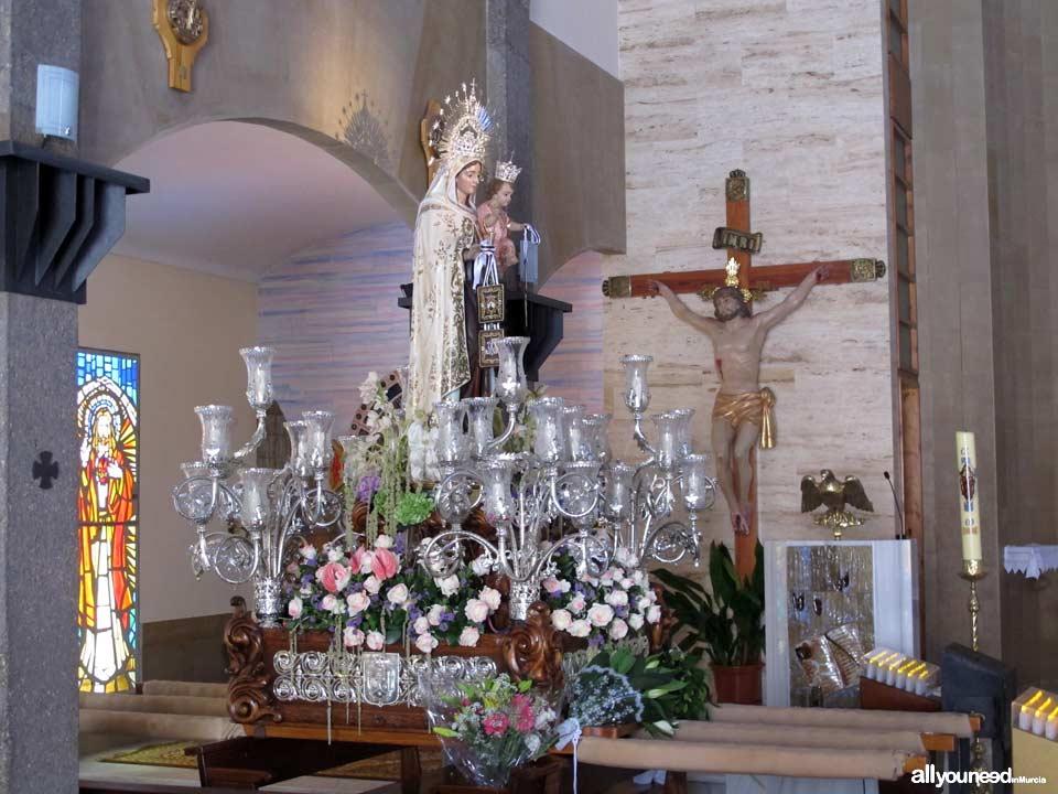 Virgen del Carmen. Lo Pagán