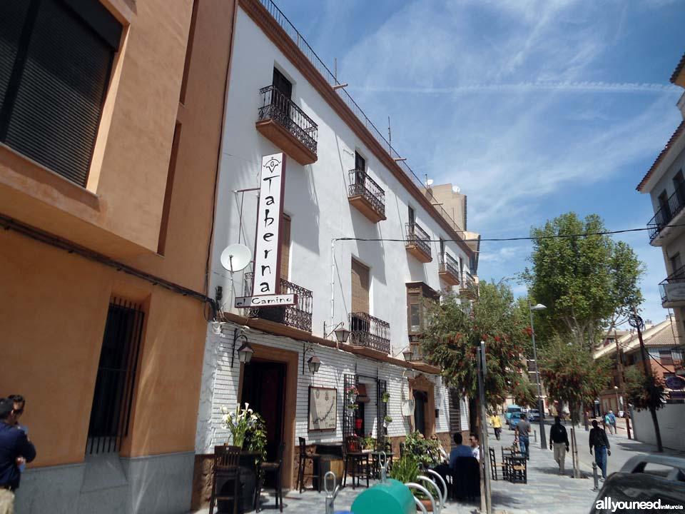 Restaurante Taberna el Camino in Lorca. Murcia -Spain-