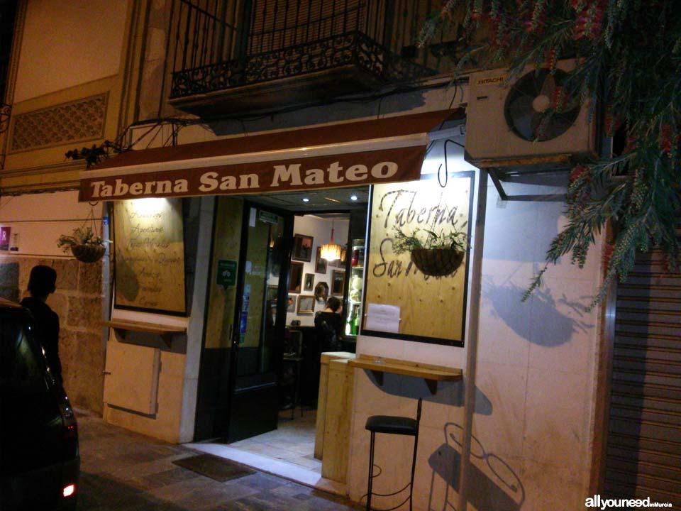 Restaurante Taberna San Mateo in Lorca -Murcia-. Spain