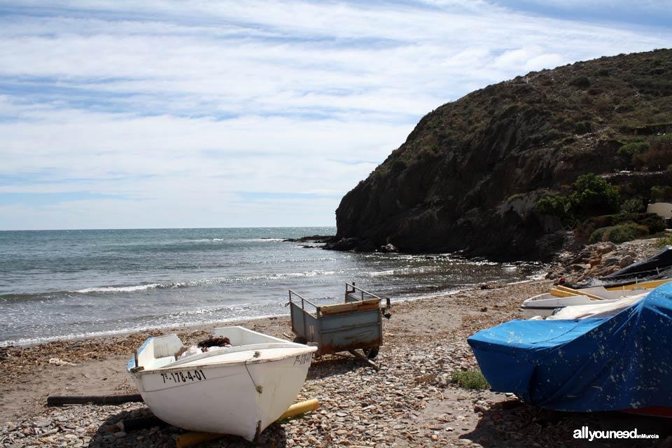 Puntas de Calnegre Beach. Beaches in Lorca