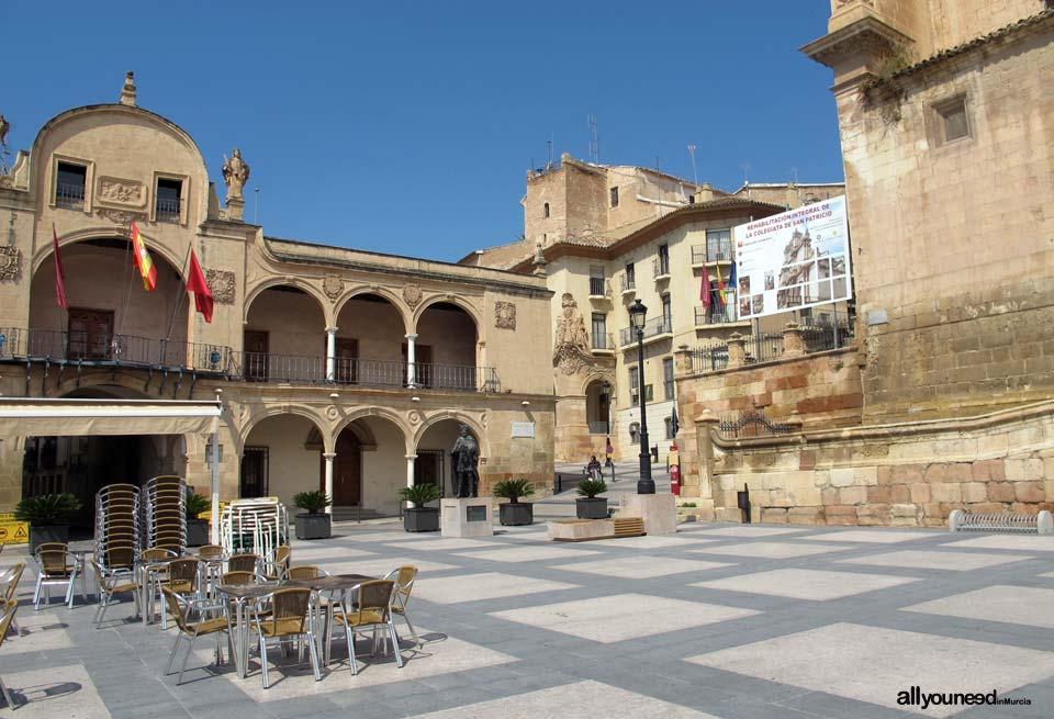 España Square. Lorca