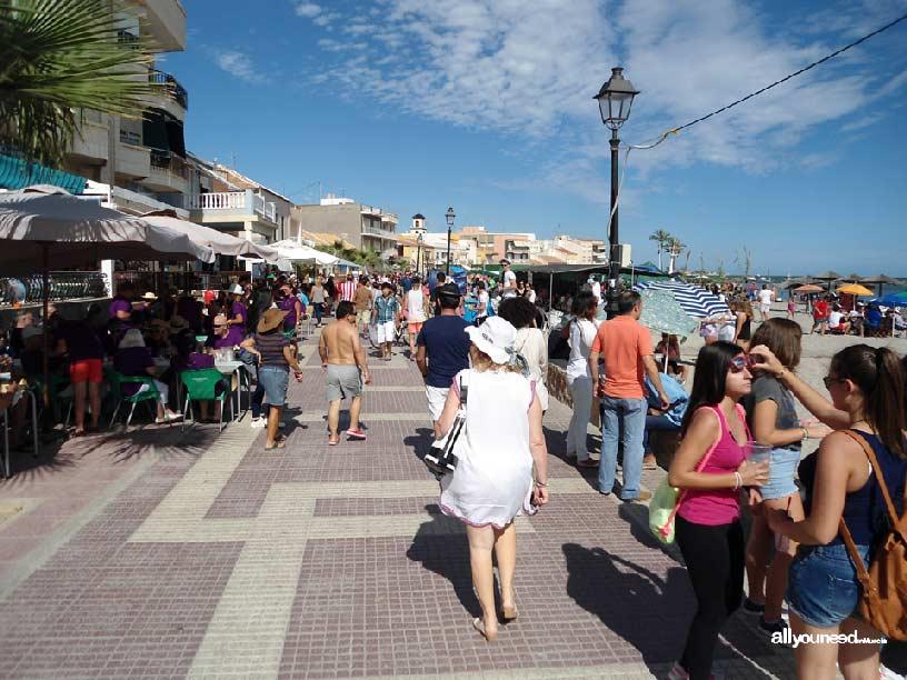 Fiestas de Octubre en los Alcázares. Día del Caldero