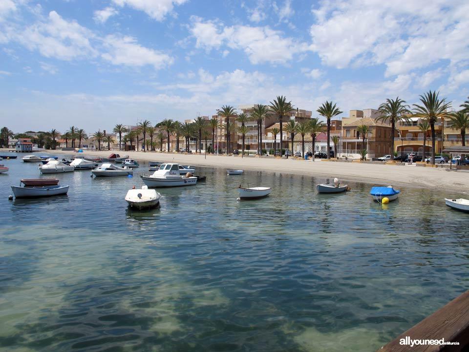 Playas de Murcia. Playa de la Concha. Los Alcázares