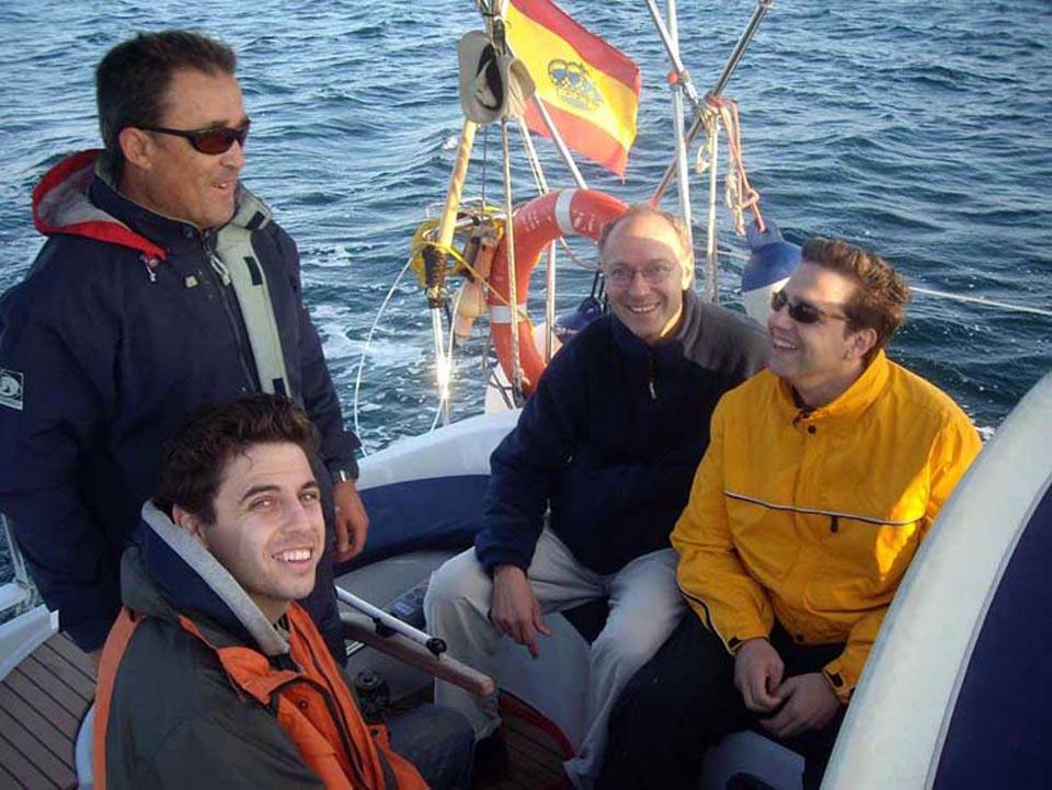 Virazon Charter. Paseos en barco por el Mar Menor. La escuela