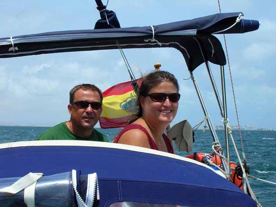 Virazon Charter. Paseos en barco por el Mar Menor. Los Patrones