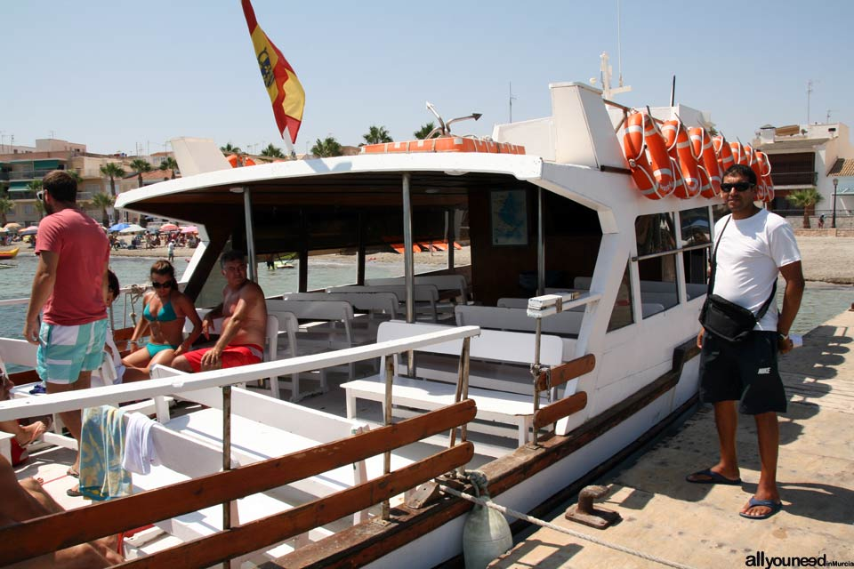 Mar Menor Cruises in Los Alcázares.Boating