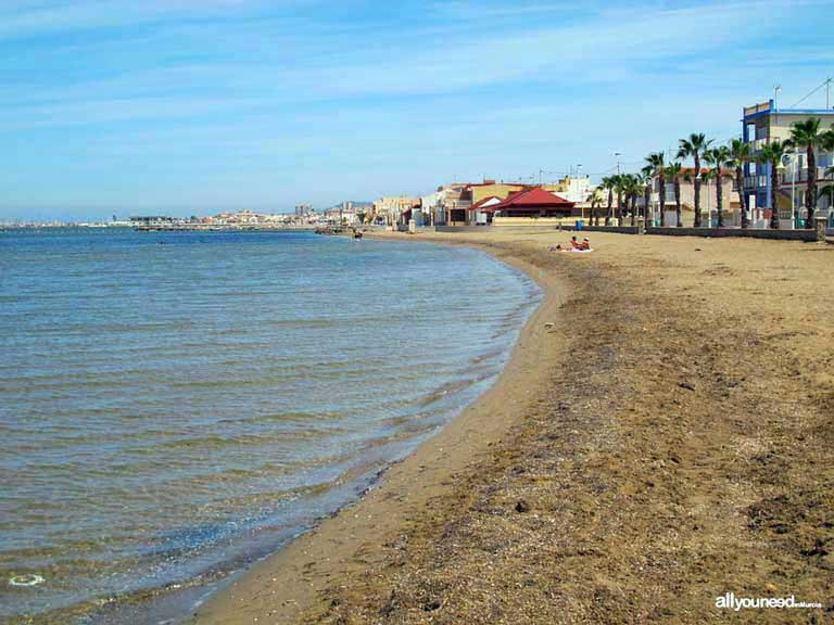 Mar Menor. Playa de los Nietos