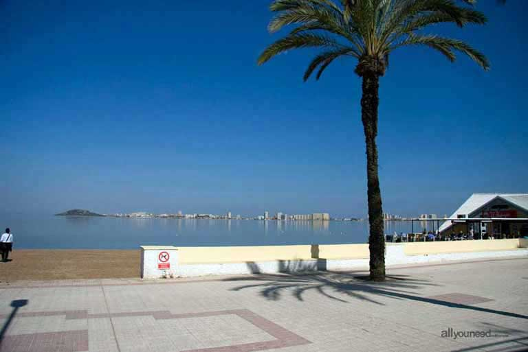 Mar Menor. Playa Honda