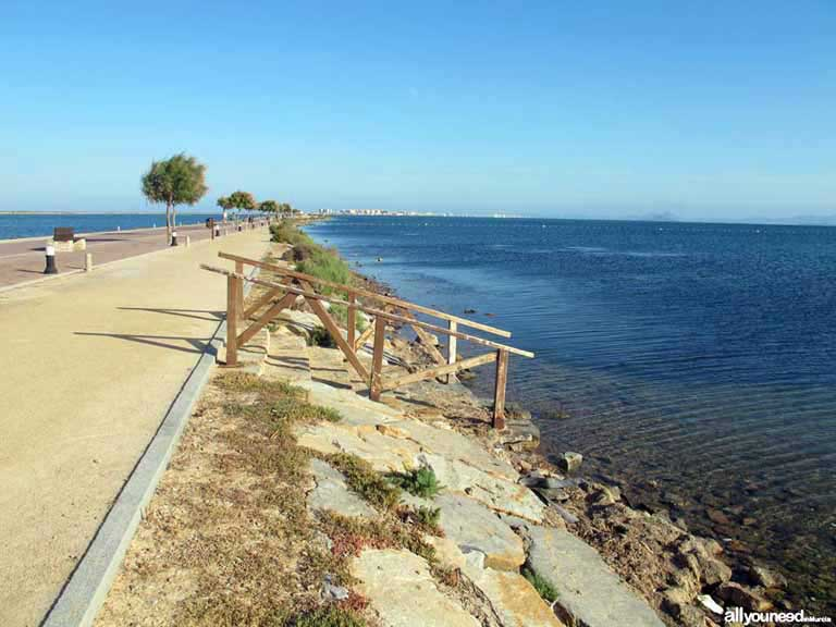 Mar Menor. Playa de la Mota
