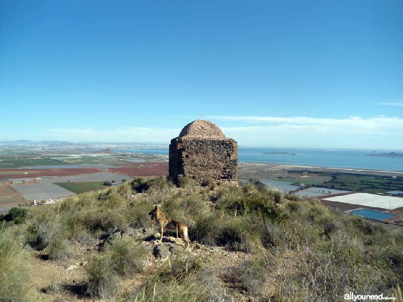 El Cabezo de San Ginés, ruinas. Espacios del Mar Menor