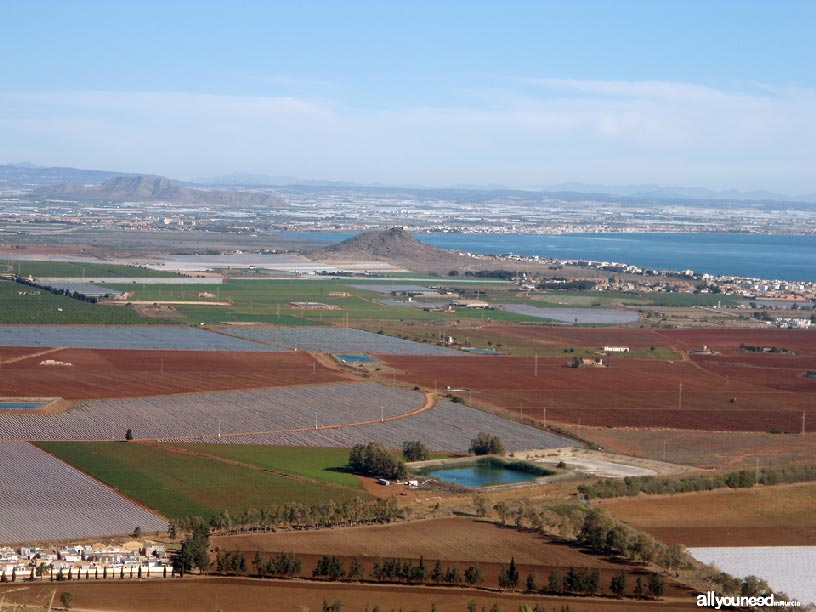 El Cabezo de San Ginés espacios del Mar Menor