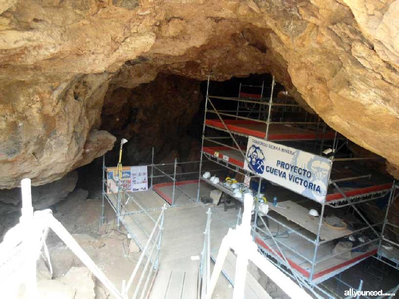 El Cabezo de San Ginés. Cueva Victoria. Espacios del Mar Menor