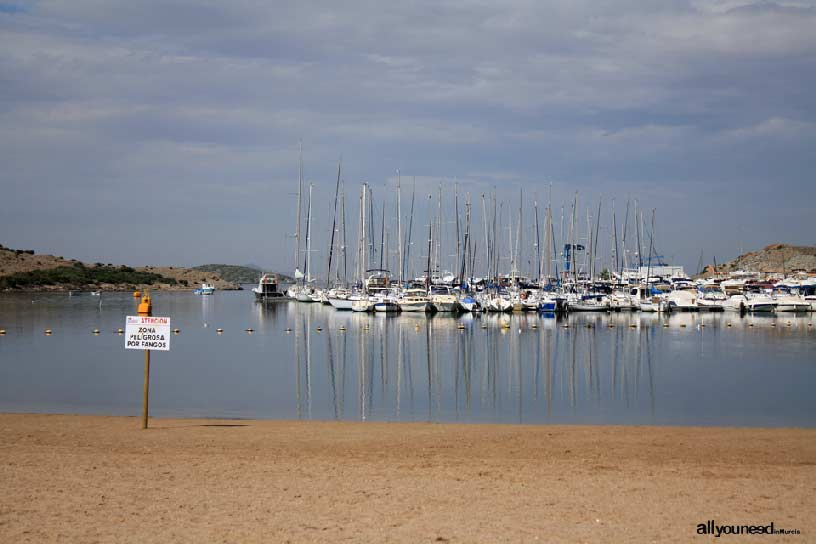 Ciervo Island in Mar Menor