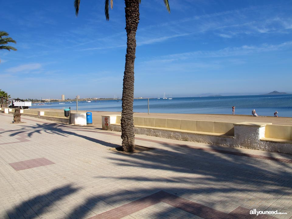 Playas del Mar Menor. Playa Honda