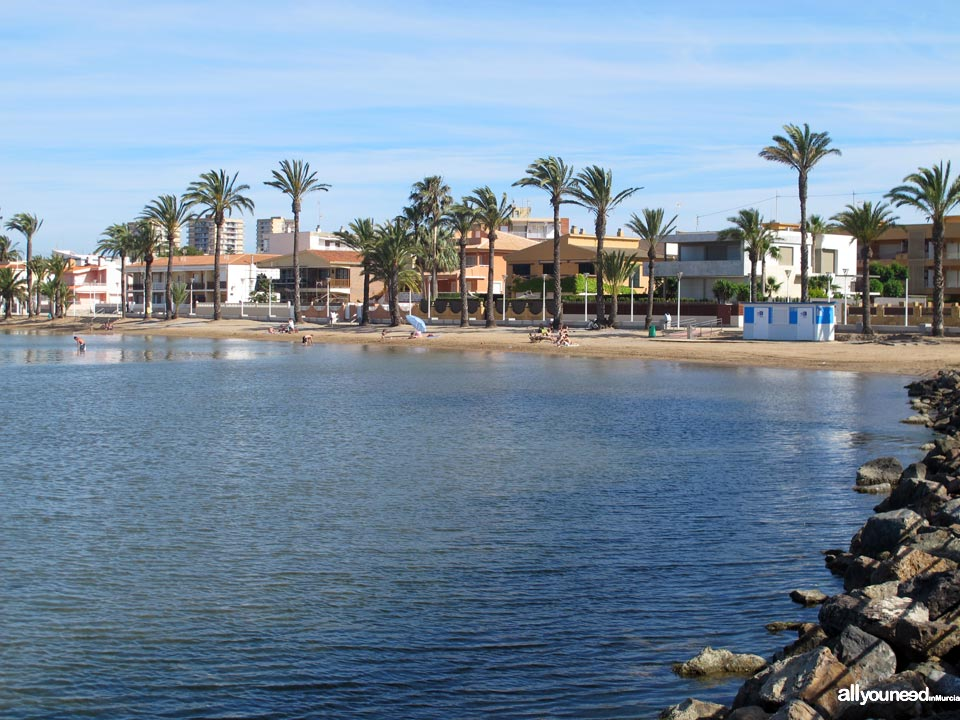 Playas del Mar Menor. Islas Menores