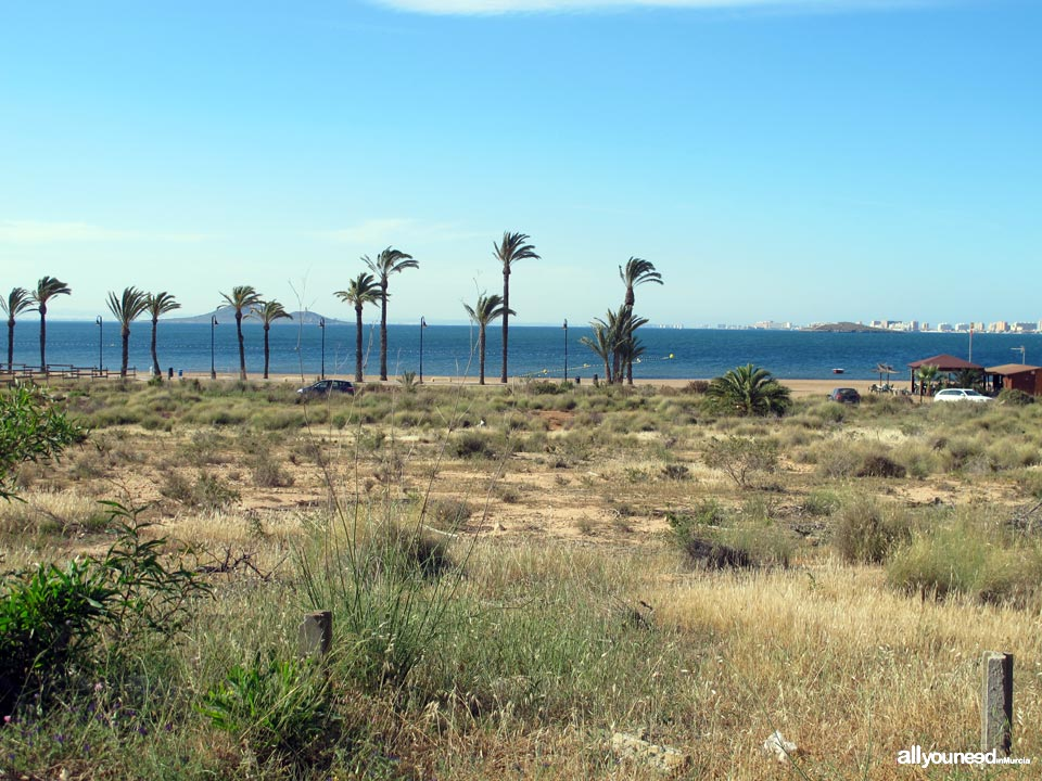 Playas del Mar Menor. Mar de Cristal