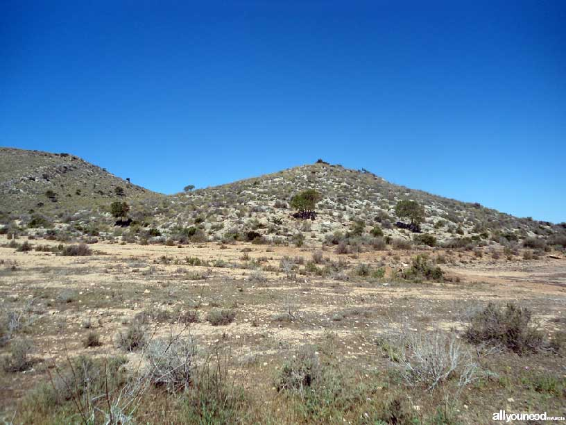 Cabezo del Sabinar. Espacios abiertos e islas del Mar Menor