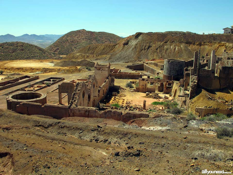 Tourism in Murcia, a hang-up free region. Mining Landscape in Mazarron