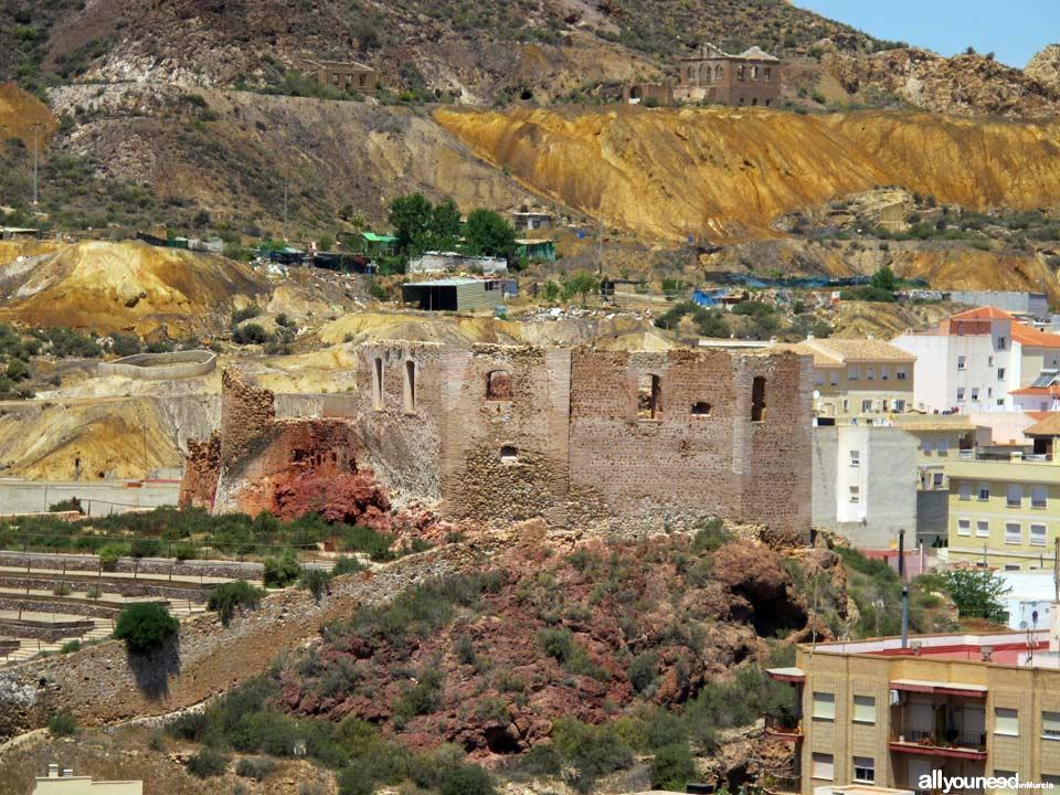 Guide of Castles in Murcia. Velez Castle in Mazarrón