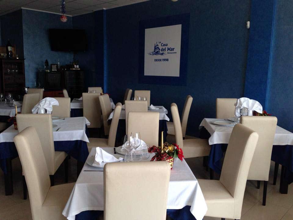 Restaurante La Casa del Mar. Puerto de Mazarrón