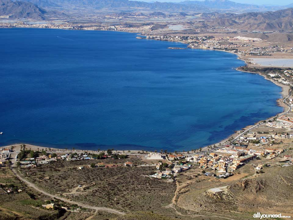 Tiñoso Cape. Views of La Azohía and the Bay of Mazarrón