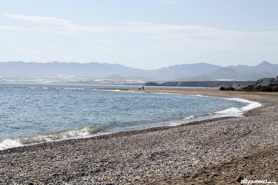 Playa Sierra de las Moreras en Mazarrón