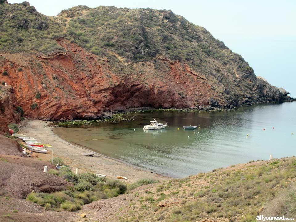 Playas de Mazarrón. Playa del Rincón