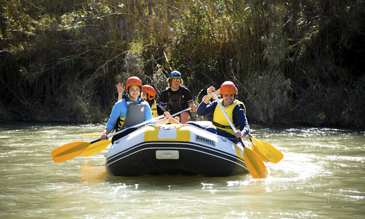 Rafting Down the Segura River - Charate