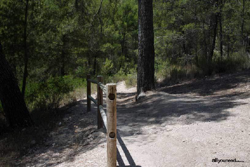 Estrecho de la Puerta y Baños de Somogil en Moratalla