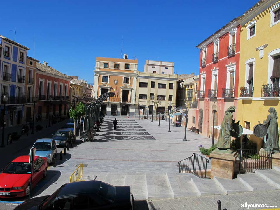 Calles y Plazas en Mula